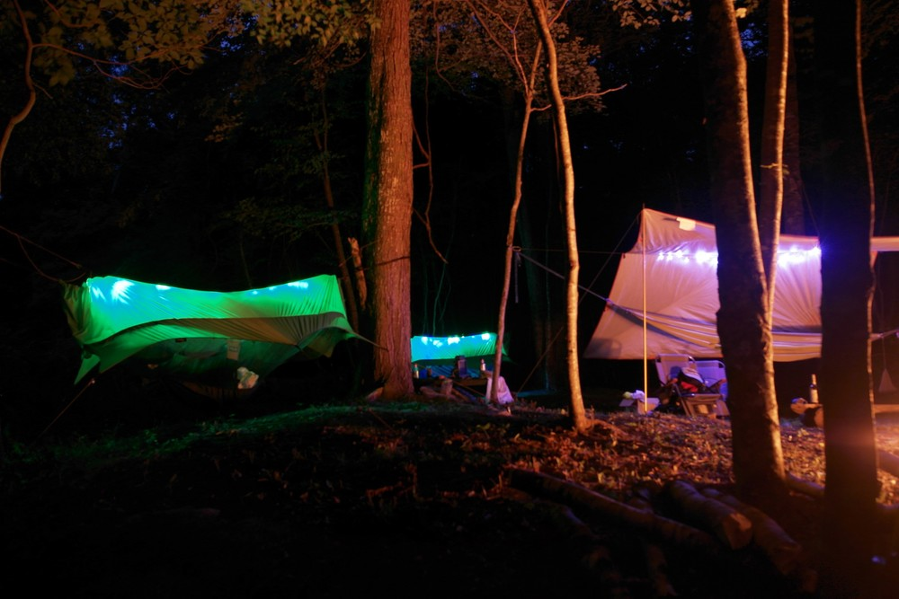 Camp Whitley LEDs
