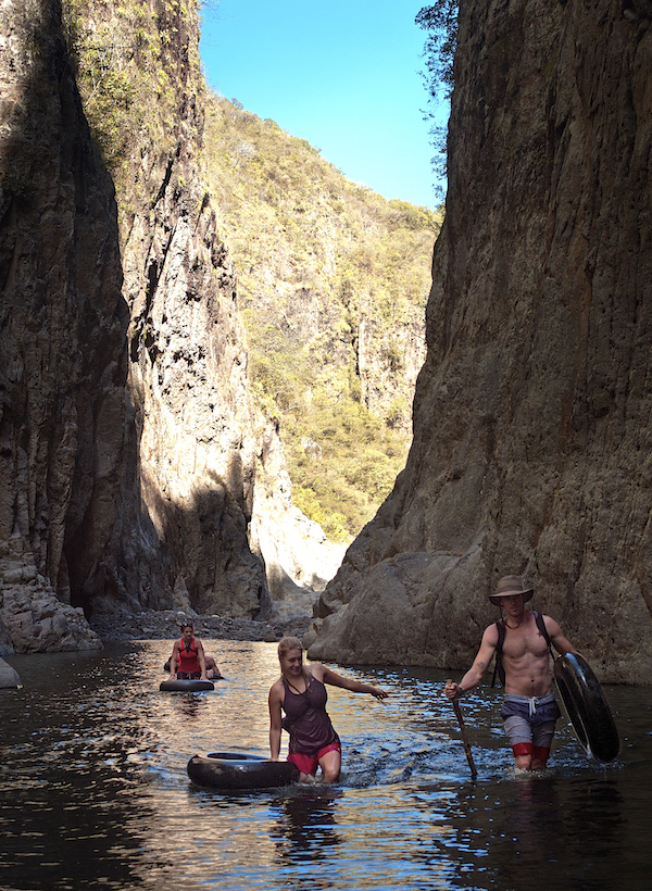 Canyon trott