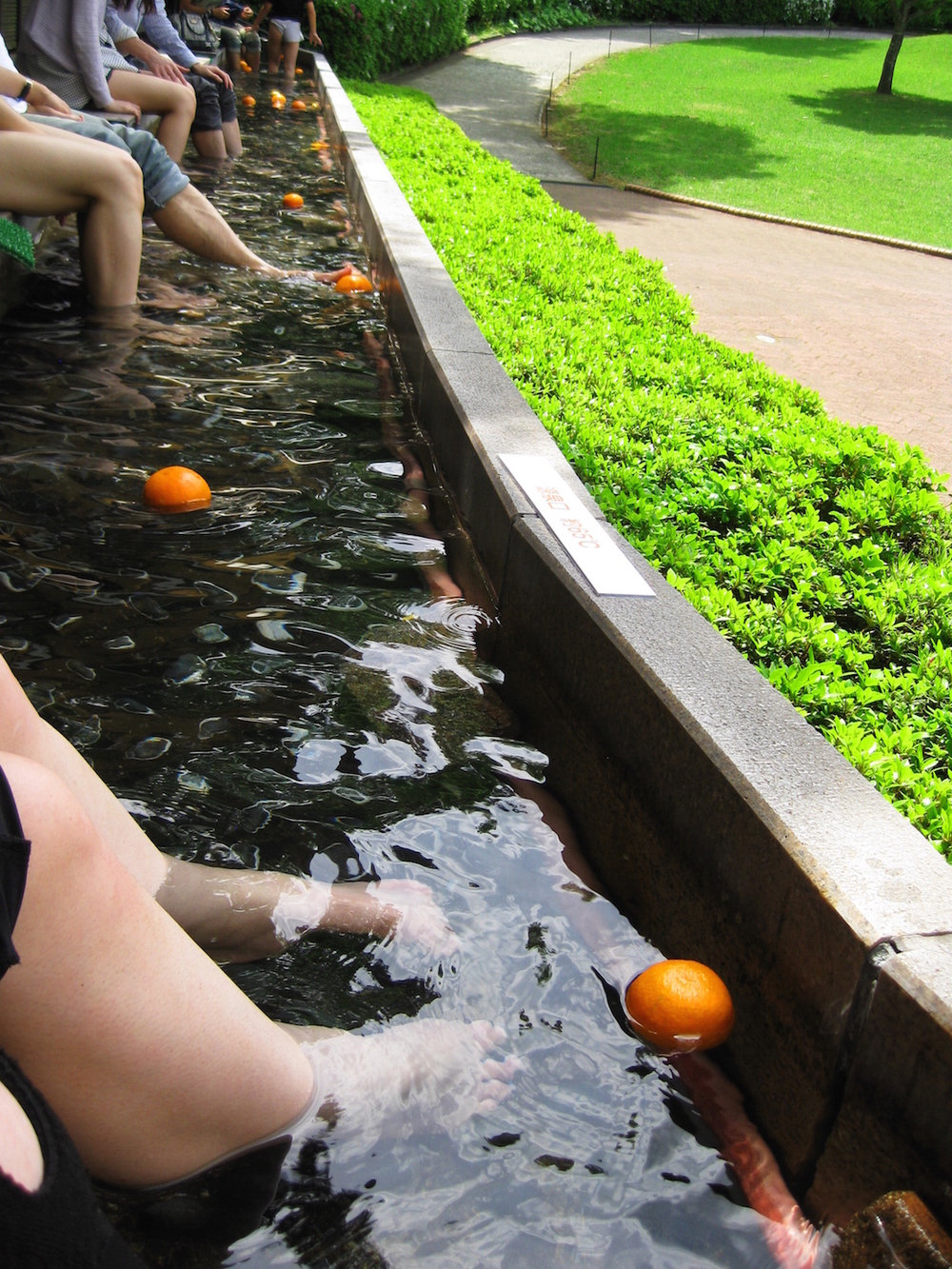 Hakone Art Museum Foot Bath