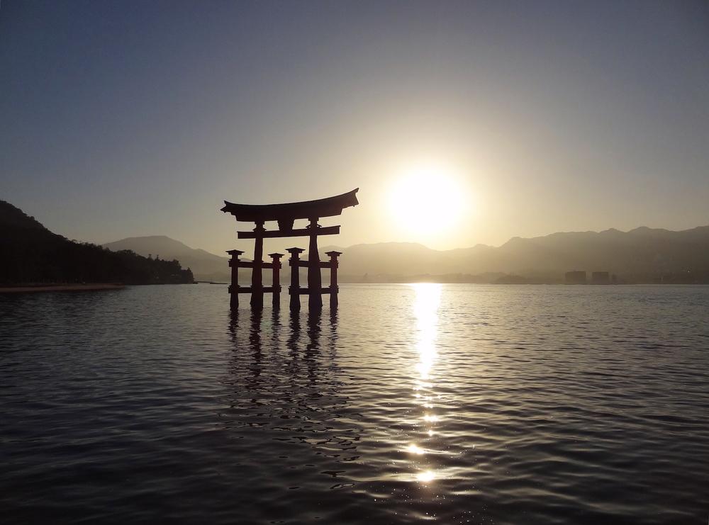 Floating Torii of Itsukushima Shrine