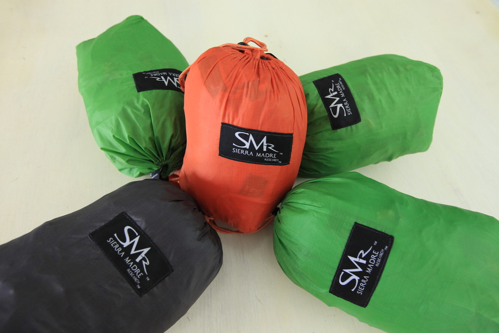 Varying colors and sizes of SL Bags