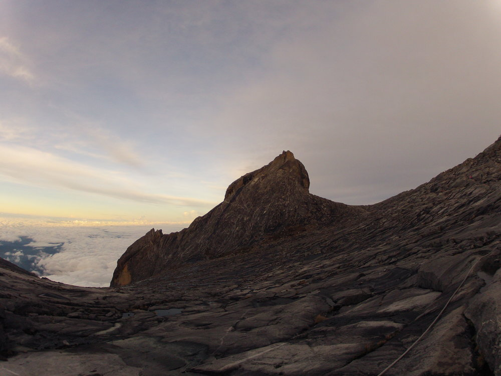 View from Low's Peak, the highest point of Mt. Kinabalu. Photo by Ariel Miranda.