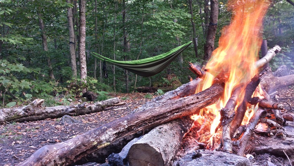 """While through-hiking the Appalachian Trail Chad """"Octo"""" Haynes utilized many of the campsites along the trail."""