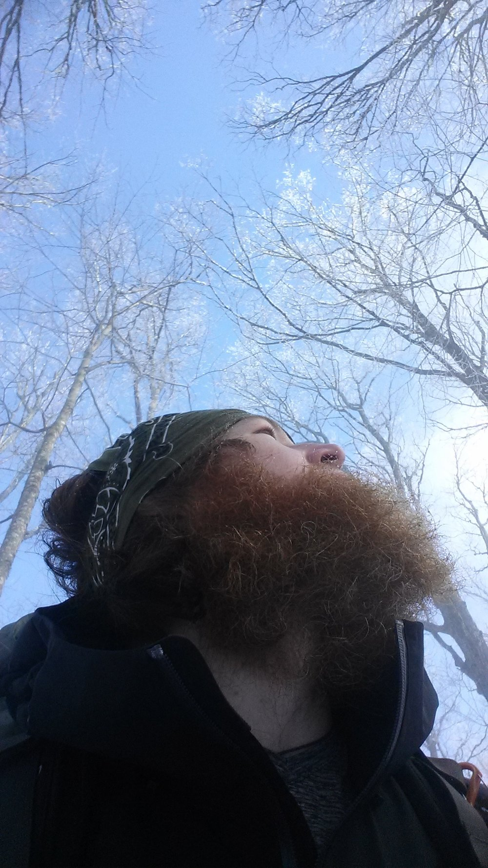 Beards are a wintertime necessity!