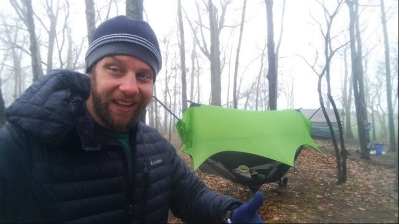 After battling a debilitating case of Lyme's Disease, Erik Barstow backpacked the Appalachian Trail using a Nubé hammock-camping system.