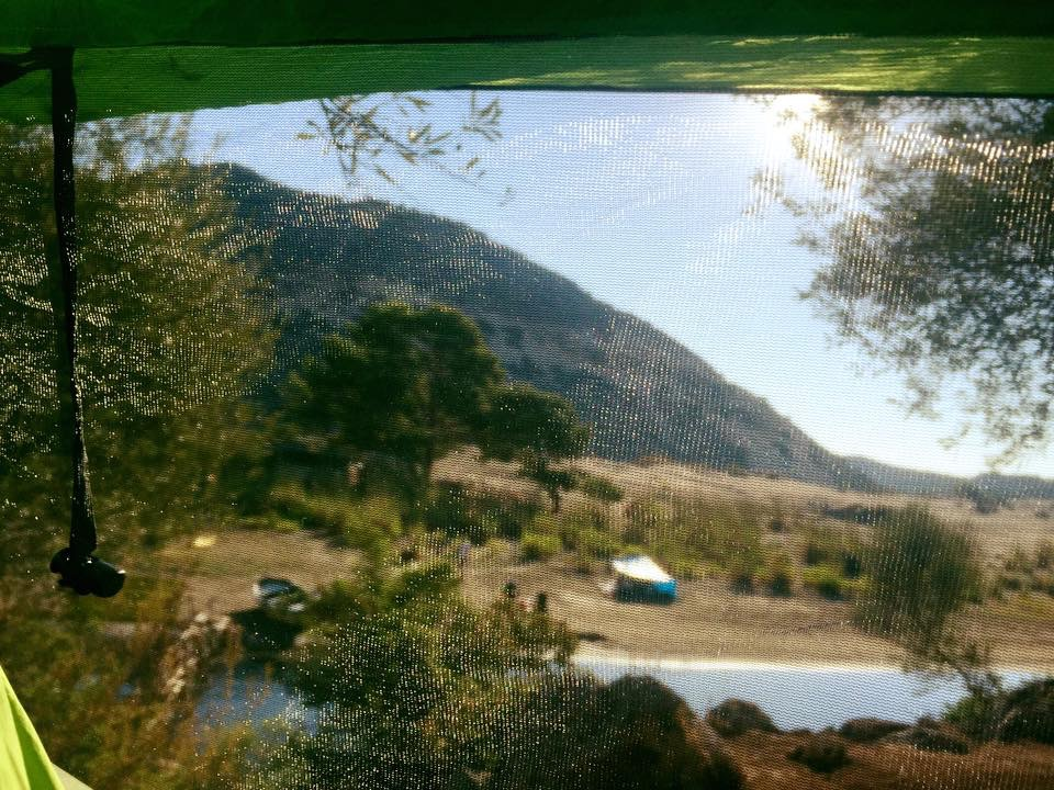 Due to the Nubés huge bugnet Soner and Bekir slept peacefully while other campers were faced with an onslaught of insects.