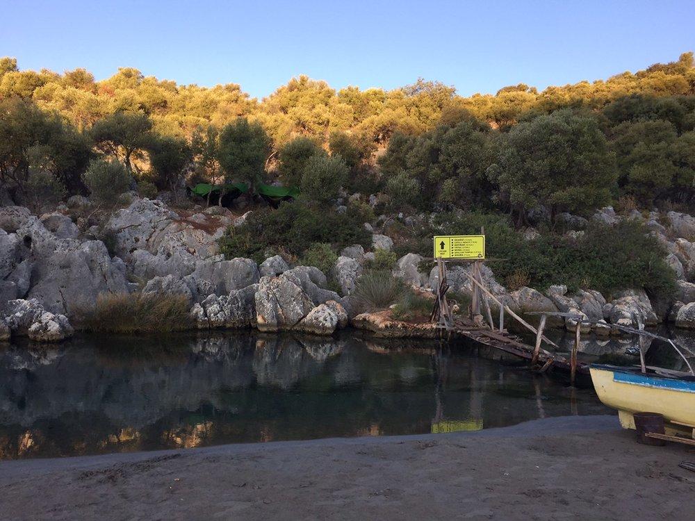 While hiking the Lycian Way in Turkey, Soner and Bekir enjoyed watching sea turtles in the Mediterranean.