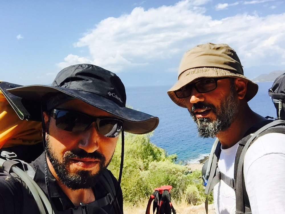 Soner Kubat and his brother, Bekir Kubat,hiked Lycian Way in Turkey, an ancient footpath built by an ancient, Bronze-Age civilization.