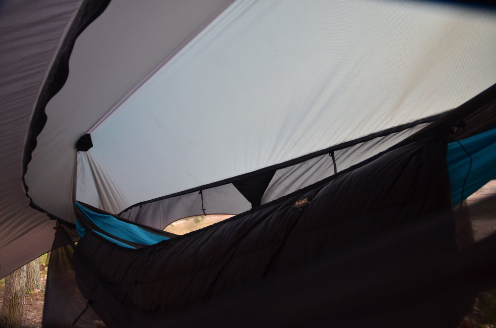 With the extra room afforded by the larger bug net of the Nubé 2.0 we had no trouble relaxing.