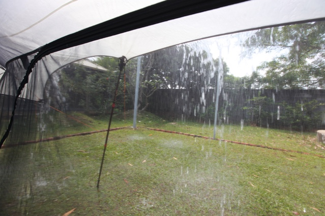 Nubé Stratos Hammock Shelter RAIN TEST