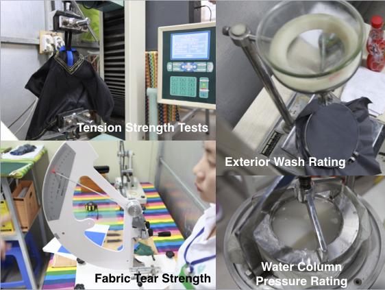 Stratos Fabric Testing