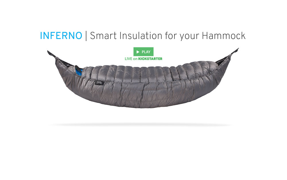 The Inferno | Hammock Insulation