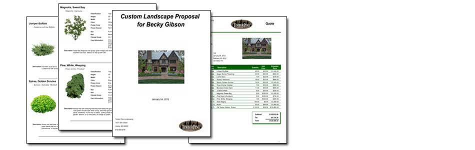 Detailed Proposals