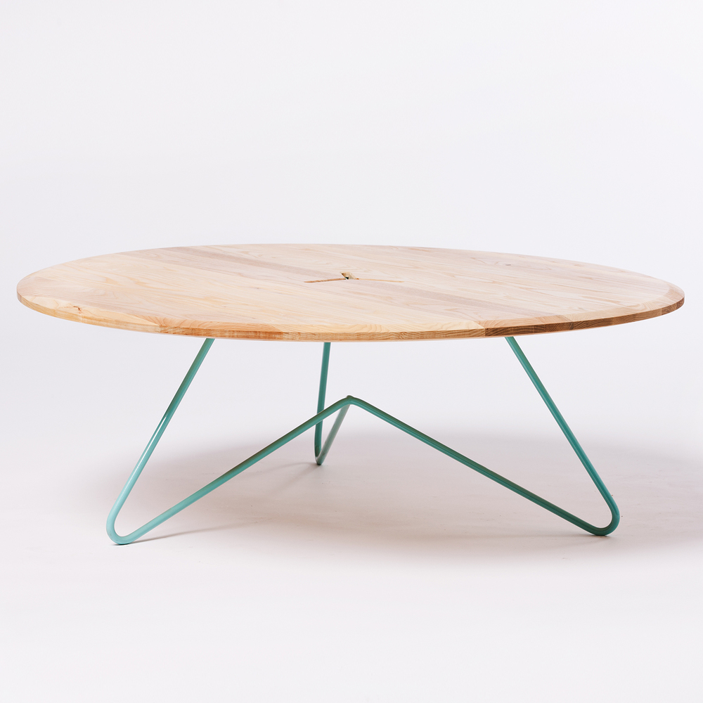 Coffee Table Ash On Seafoam Such Such Shop