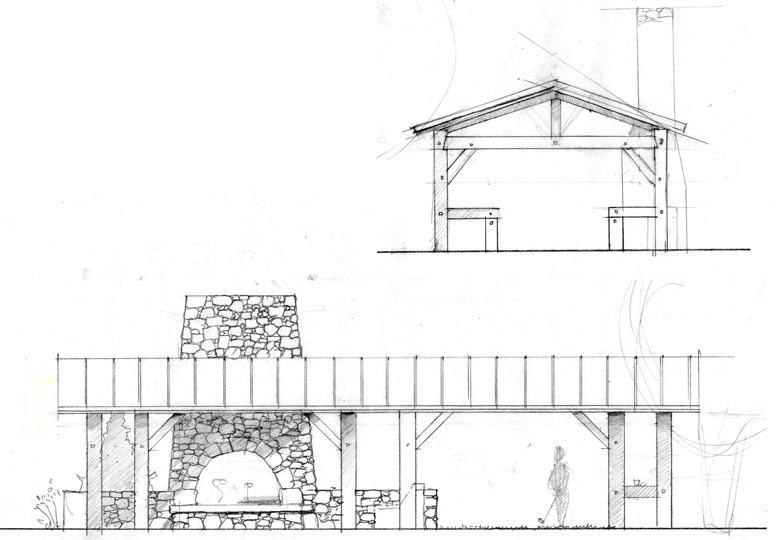 Pool Shed Elevation