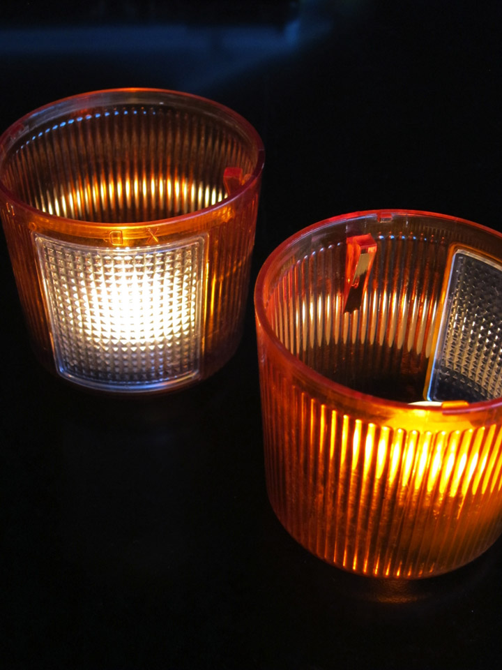 Tail light Votives — BYLA