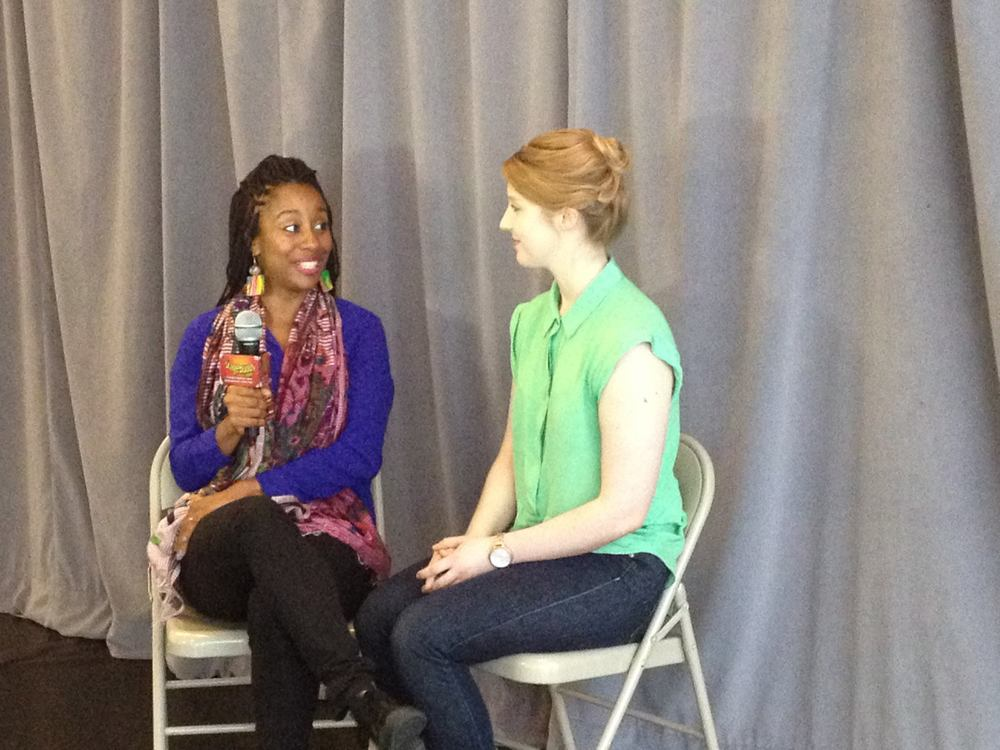 Interviewed by Lynette Nicholas for Stagebuddy.com