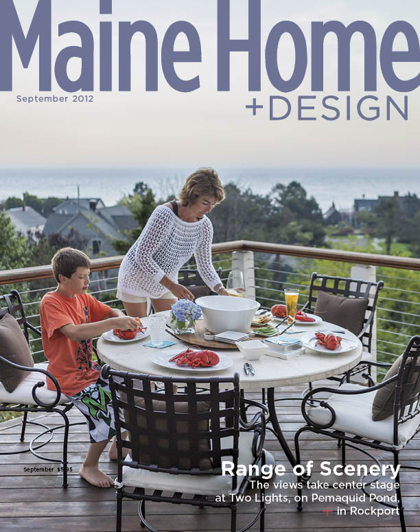 Maine Home+Design Cover September