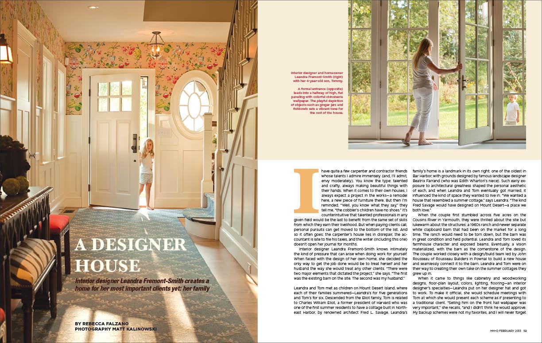 Magazine Layout Heidi Kirn Photographer