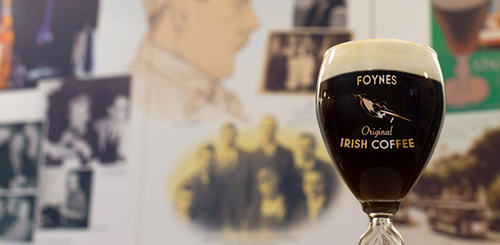 The History of the Original Irish Coffee for Extra Crispy, March 2017