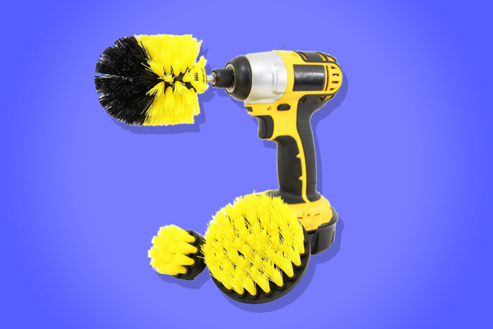 Nothing's Ever Gotten My Bathroom As Clean As This Power Drill Brush Has - This ode to a power-cleaning drill attachment is an example of how my writing converts to product clicks and sales.In December 2018 alone, we sold 1,467 Drillbrushes on Amazon as a result of this piece.It's also an example of my ability to drive media interest in my work. I appeared on Jolie Kerr's podcast Ask A Clean Person, hosted by Acast, to talk about the Drillbrush and other power-cleaning tools.