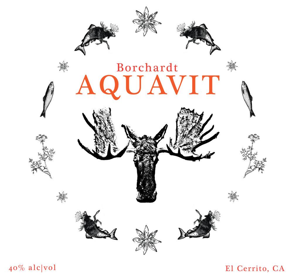Aquavit Label (draft), 2016
