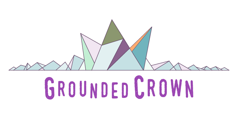 Grounded Crown logo header, 2016