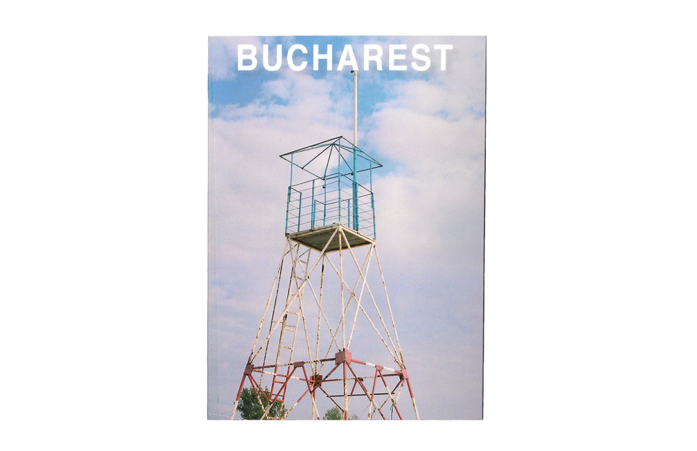 "24 Hours in Bucharest   5 "" x 7 "" booklet.   28 Pages  Staple bound  Printed in a numbered edition of 50"