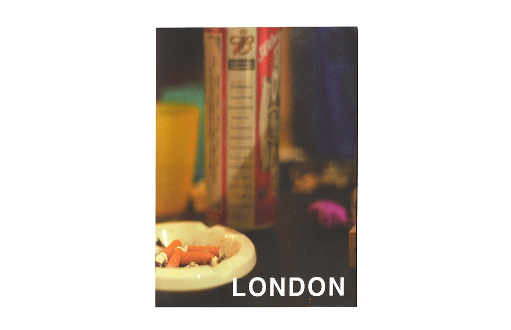 "24 Hours in London   5 "" x 7 "" booklet   24 Pages  Staple bound  Printed in a numbered edition of 50"