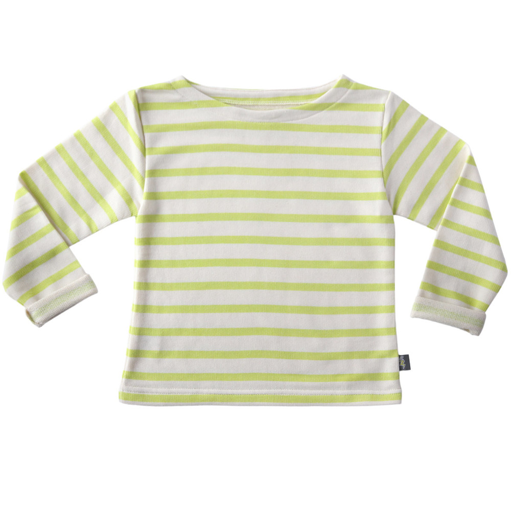 CLASSIC LONG SLEEVE lime stripe