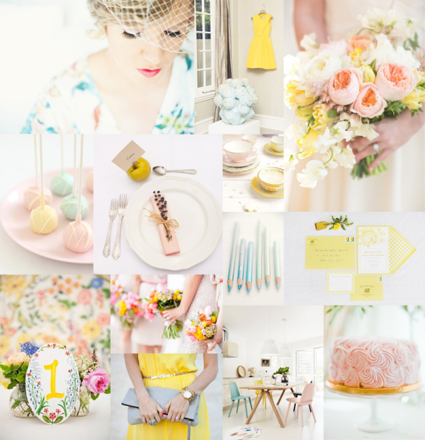 Romantic Pastel Wedding