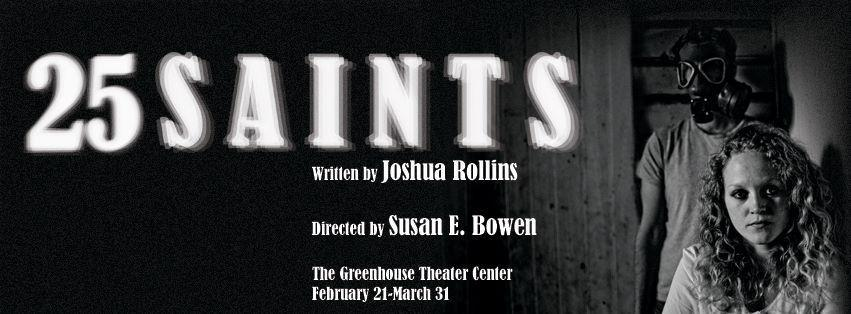 25 Saints by Joshua Rollins