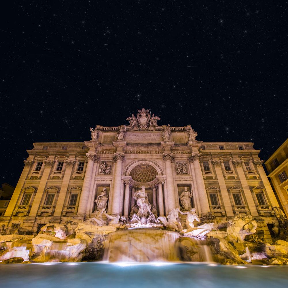 Poseidon Strikes a Pose — Trevi Fountain, Rome