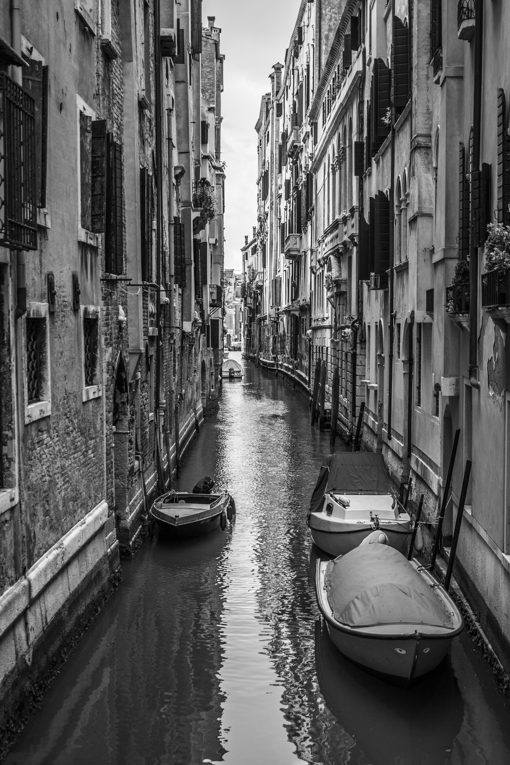 A Well Documented Canal — Venice