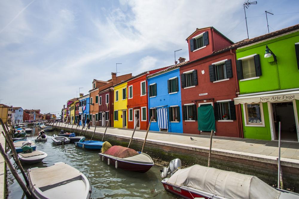 Rainbow Road — Burano, Venice