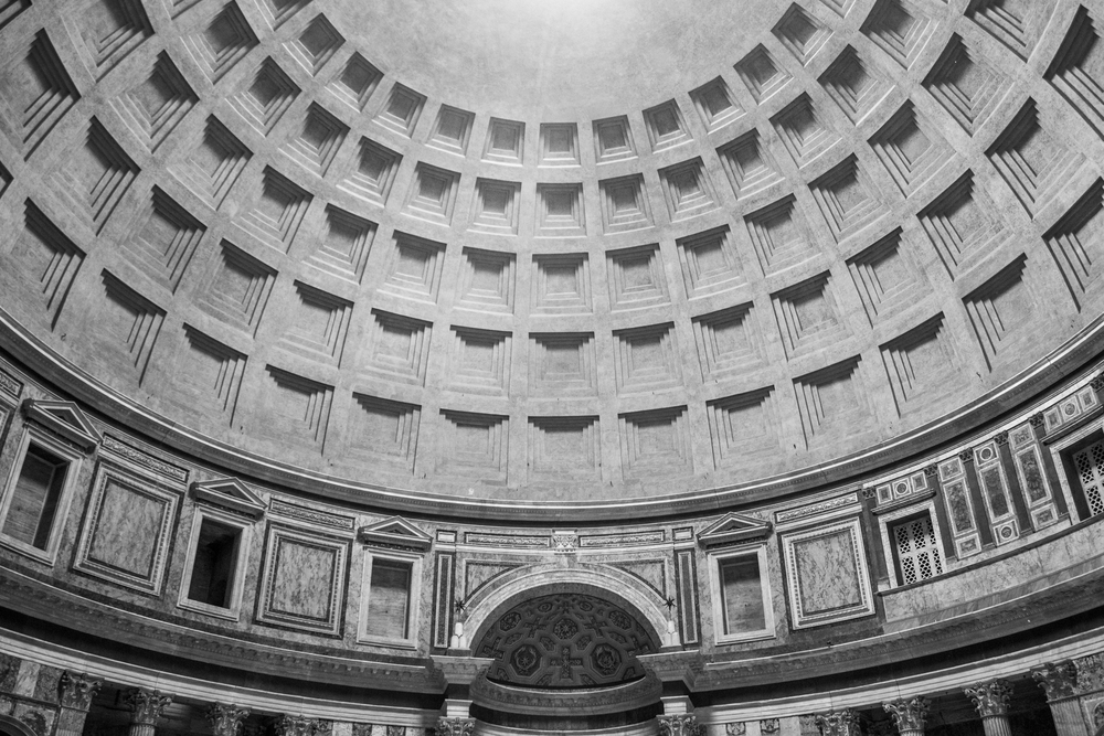 Imperfect Symmetry — Pantheon, Rome