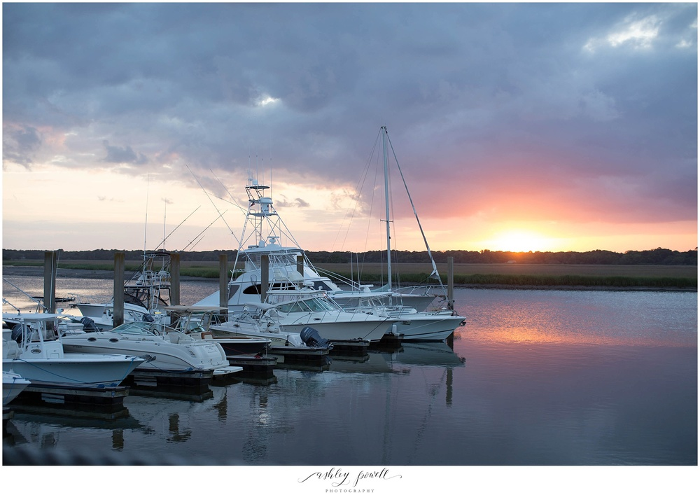 Bohicket Marina | Kiawah Island, SC | Ashley Powell Photography