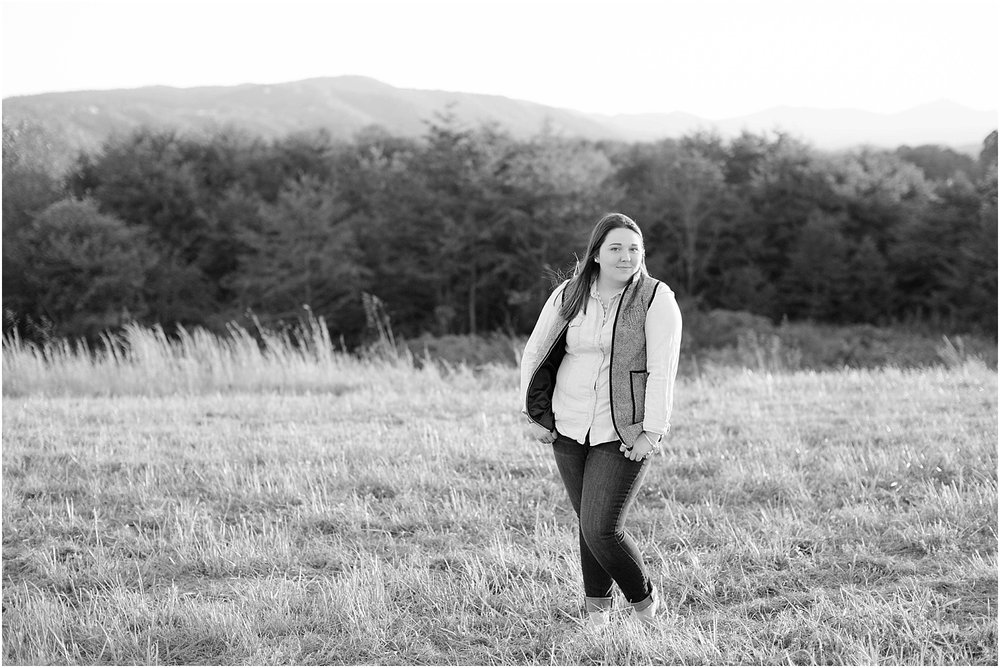 Senior Portrait Session | Ashley Powell Photography | Roanoke, VA