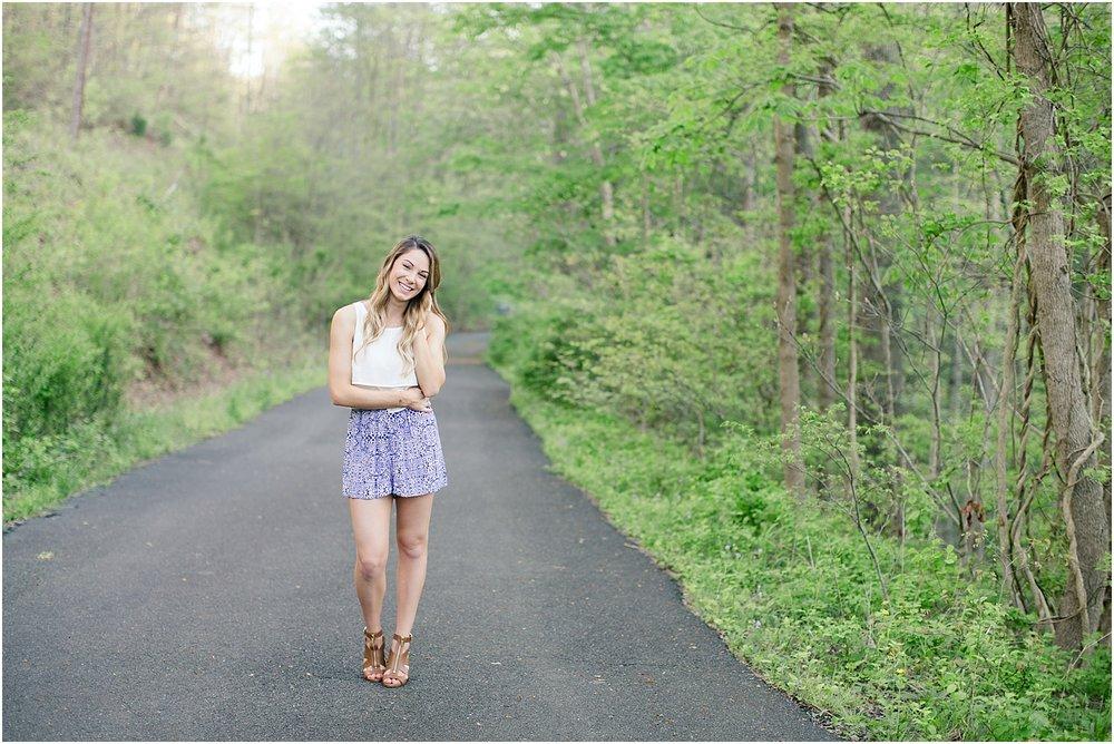 Senior Session | Ashley Powell Photography | Roanoke, VA Photographer | Radford University