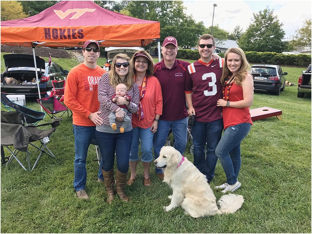 Jack's first VT tailgate!