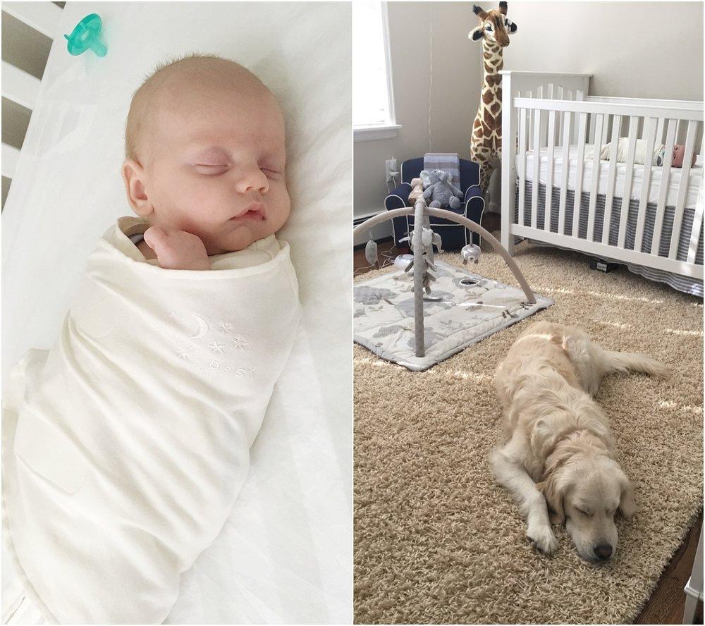 First big boy nap in his crib!