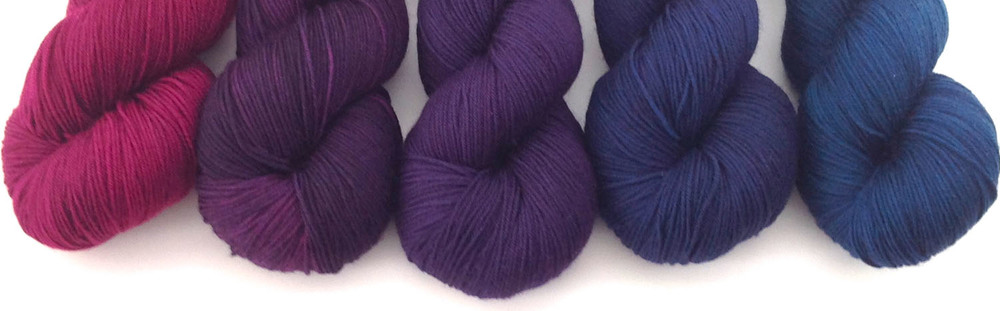 Mini-skein set from Seven Sisters Arts