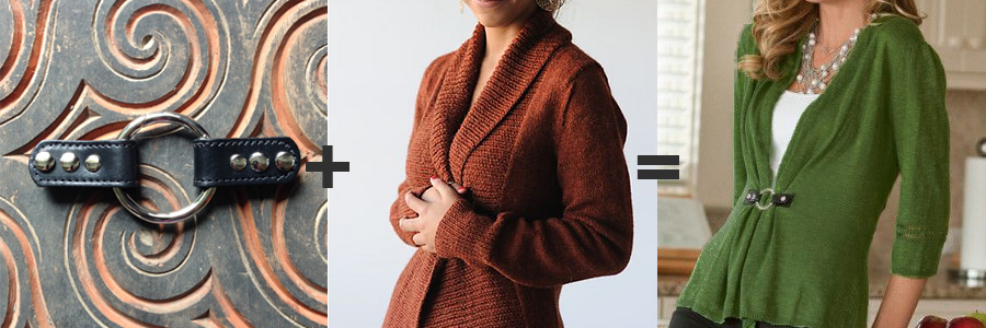 Lisbon Ring Closure  with  Hanna Fettig's Autumnal Cardigan