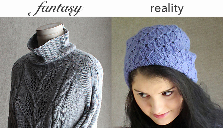 Left: Milkweed Pullover by Sunday Knits, Right: Broderie Hollandaise by Sunday Knits, photos copyright Sunday Knits, used with permission.