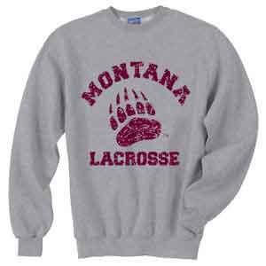 Montana Lacrosse Crew Neck Sweatshirt - $25
