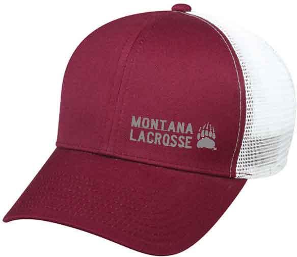 Montana Lacrosse Trucker Hat - $20