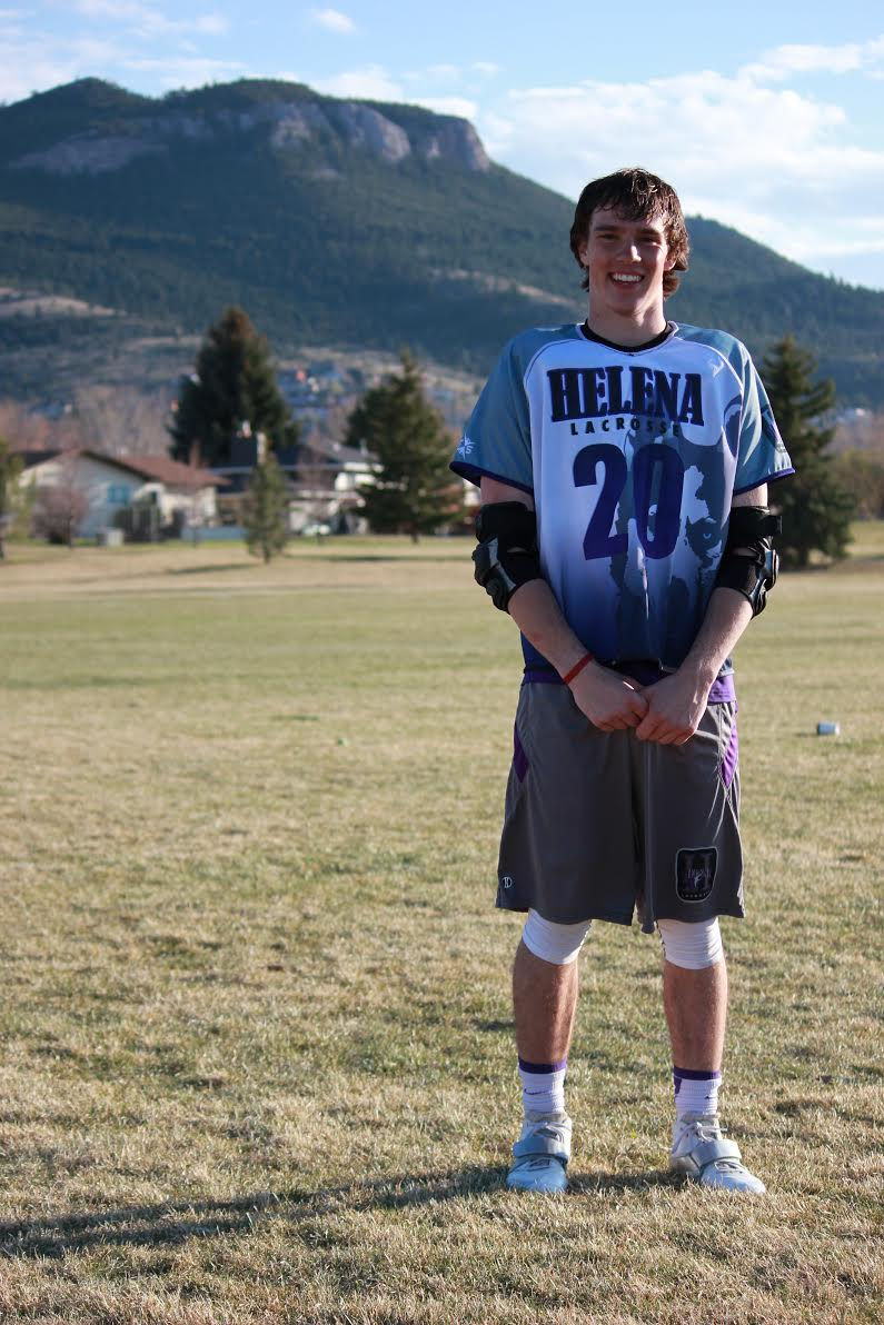 Nolan Davis, Helena, Montana, sophomore, midfield.  Nolan is studying Exercise Science.  Nolan played high school lacrosse in Helena and ran track with the University of Montana's track team before making the switch to the lacrosse team this year.  Nolan enjoys fishing, camping, hiking and exploring.  Nolan chose UM because the town of Missoula in his mind is the best town in Montana hands down. The diversity and overall atmosphere of the town is amazing. There are a steady stream of events going on around the city, so there is always something to do. Nolan has aspirations of being a physical therapist and hopes to continue schooling at UM once his undergraduate degree is complete.