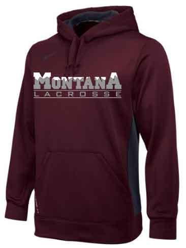 Montana Lacrosse Nike KO Hoodie - $50