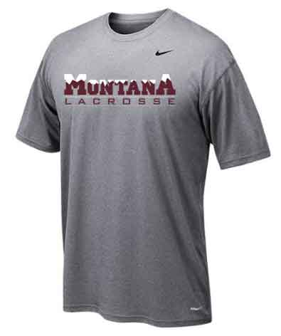 Montana Lacrosse Nike Dry Fit Shooting Shirt - $25