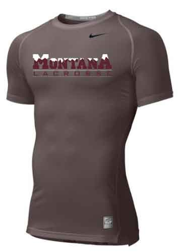 Montana Lacrosse Nike Pro Cool Compression SS - $30